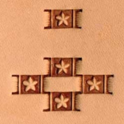Tandy Leather Craftool Basketweave Stamp X596 6596 New