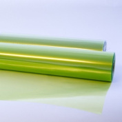 15m x 80cm Roll Tinted Lime Green Cellophane Wrap. Florist Quality Bouquet / Gift ...