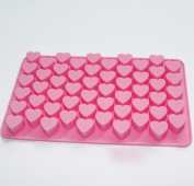 Mini Heart Silicone Mould for Soap Embeddables Chocolate Candy Cake Decoration