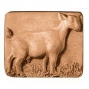 Standing Goat Soap Mould