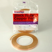 0.5cm Black Back Copper Foil - 1.25 Mil