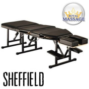 Sheffield Elite Professional Portable Chiropractic Table - Charcoal