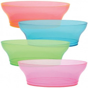 Party Dimensions 20 Count Plastic Bowl, 300ml, Neon mix