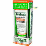 Dr. Katz TheraBreath Oxygenating Toothpaste, with Aloe Vera, 120ml Tubes