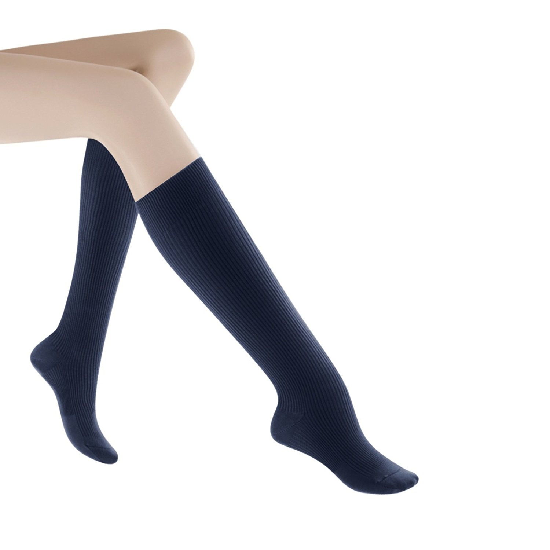 d76f2d71541 SIGVARIS Women s CASUAL COTTON 146 Calf High Compression Socks 15 ...
