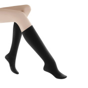 Women's Casual Cotton 15-20mmHg Closed Toe Knee High Sock Size