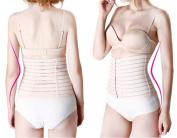 Breathable Postpartum Postnatal Support Girdle Belly Binder 75-110 cm