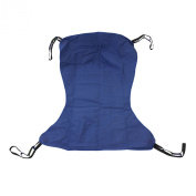 Drive Medical Full Body Patient Lift Sling without Commode Opening, Blue, Extra Large