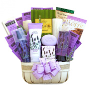 California Delicious Field of Lavender Spa Gift Basket, 1.8kg