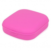 TOOGOO(R) Pink Mini Contact Lens Travel Kit Case - Pocket Size