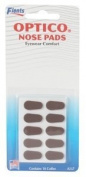 GMS Optical Soft Foam Nose Pads - Coffee Colour