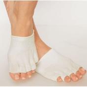 Gel Toe Socks Dry Forefoot Feet Heel Hard Cracked Skin Moisturising Open Comfy Recovery Protection Toes Protector Sock 5 Moisturising