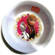 Zak! Designs Cereal Bowl featuring Anna & Olaf from Frozen, Break-resistant and BPA-free Melamine
