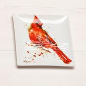 Big Sky Carvers Cardinal Snack Plate