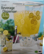 CreatvieWare Acrylic Heavy Duty Chrome Spigot Beverage Dispenser 13.2l (13.2L) - BPA Free