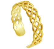 Gold Trinity Knot Celtic Toe Ring