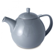 FORLIFE Curve 1330ml Teapot with Infuser, Grey