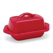 Chantal True Red Stoneware Mini 13cm Butter Dish