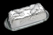 Arthur Court Designs Butterfly Covered Butter Dish