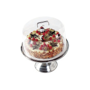 Cambro RD1200CW135 Polycarbonate Camwear Round Cake Display Cover, Clear