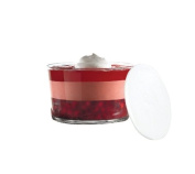 Anchor Hocking Presence Footless Trifle with White Plastic Lid