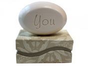"""Personalised Scented Soap - Soap Sentiments - Luxury Single Bar Box - Personalised with """"You"""""""
