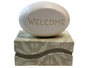 """Personalised Scented Soap - Soap Sentiments - Luxury Single Bar Box - Personalised with """"Welcome"""""""