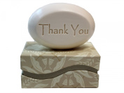 """Personalised Scented Soap - Soap Sentiments - Luxury Single Bar Box - Personalised with """"Thank You"""""""