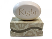 """Personalised Scented Soap - Soap Sentiments - Luxury Single Bar Box - Personalised with """"Right"""""""