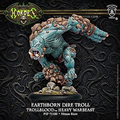 Hordes - Trollbloods - Earthborn Dire Troll - Heavy Warbeast