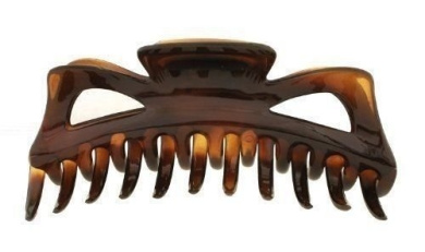 Parcelona French Large 14cm Celluloid Tortoise Shell Claw Jaw Hair Clip