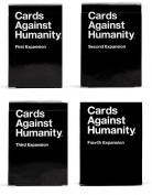 CARDS AGAINST HUMANITY EXPANSION SET 1st 2nd 3rd 4th Expansion Packs New.