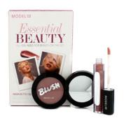 Essential Beauty - Amaretto Sunset (1x Blush Cheek Powder, 1x Shine Ultra Lip Gloss), 2pcs
