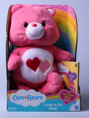 Care Bears Love-a-lot Bear 30cm Plush