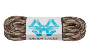 Camouflage 270cm Waxed Skate Lace - Derby Laces for Roller Derby, Hockey and Ice Skates, and Boots