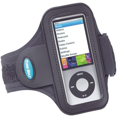 Tune Belt Sport Armband for iPod nano 5G - iPod nano armband 5th generation fits 4th generation, 2nd generation and 1st generation