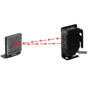 Seco-Larm E-931-S35RRQ Enforcer Indoor/Outdoor Wall Mounted Photoelectric Beam Sensor with 11m Range