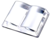 ADERIA Crystal paperweight book F-70900