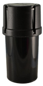 MedTainer Storage Container w/ Built-In Grinder - Black by MedTainer Office Product