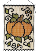 Fall Pumpkin Beaded Banner Kit The Beadery Craft Products 5680 Pony Beads