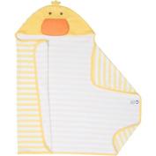 Gerber Newborn Baby Duck Hooded Towel Terry Bath Wrap