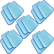 CIMC LLC Microfiber 15-Pack, Pro-Clean Mopping Cloths for Braava Floor Mopping Robot 380 380T