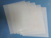 Heavy Duty 14mil Mylar Stencil Sheets - .36cm Thick Polyester Sheet 15cm x 25cm