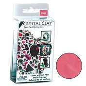 50 Grammes Crystal Clay Two Part Epoxy Mix - Ruby Red