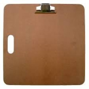 US Art Supply® Artist Sketch Tote Board - Great for Classroom, Studio or Field Use