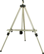US Art Supply Silver Pismo 170cm Tall Lightweight Aluminium Field Floor and Table Easel with Bag