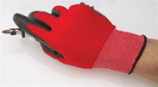 Strong Hold Gloves Nitrile Coat Micro-Knit - Large