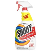 Shout Triple Acting Laundry Stain Remover, Trigger Spray 890ml