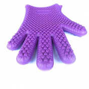 1pcs Kitchen Tool Heat Resistant Glove Oven Pot Holder BBQ Baking Cooking Mitts