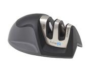 KitchenIQ 50009 Edge Grip 2 Stage Knife Sharpener New